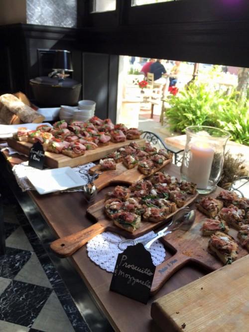 Culver Blogger Brunch featured a spread of scrumptious eats.
