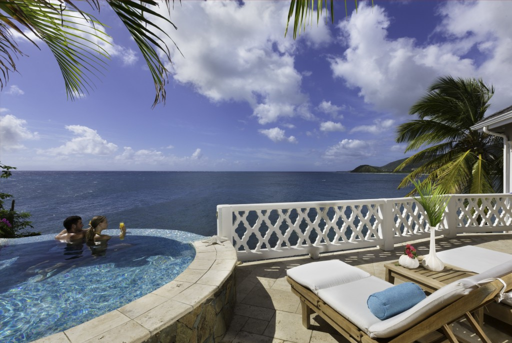 Celebrities receive a trip to one of Antigua's reputable resorts.