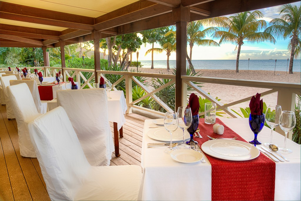 Celebrities can get pampered at the Galley Bay Resort and Spa.