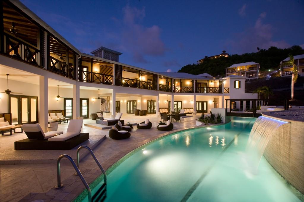 Antigua's posh