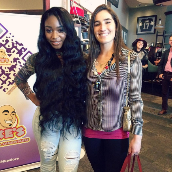Fifth Harmony member Normani Kordei catches up with Home Business Magazine at GBK's Pre-Grammy gifting suite.