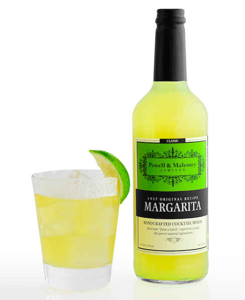 Stars can get the party started with all-natural margarita mix from Powell & Mahoney Craft Cocktail Mixers.