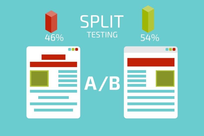 Split A B