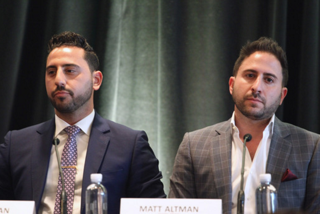 "Josh Altman (left) and Matt Altman inspire enterprising realtors during the ""Million"