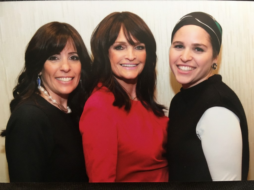 UnderCover WaterWear founders Melissa Chehebar, Susan Esses, and Rachel Tabbouche (left to right)