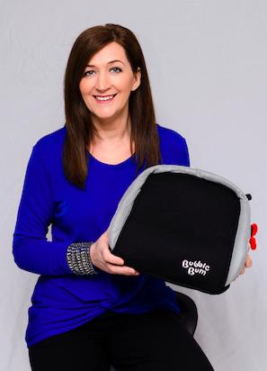 Grainne Kelly, founder of BubbleBum Car Travel Innovations