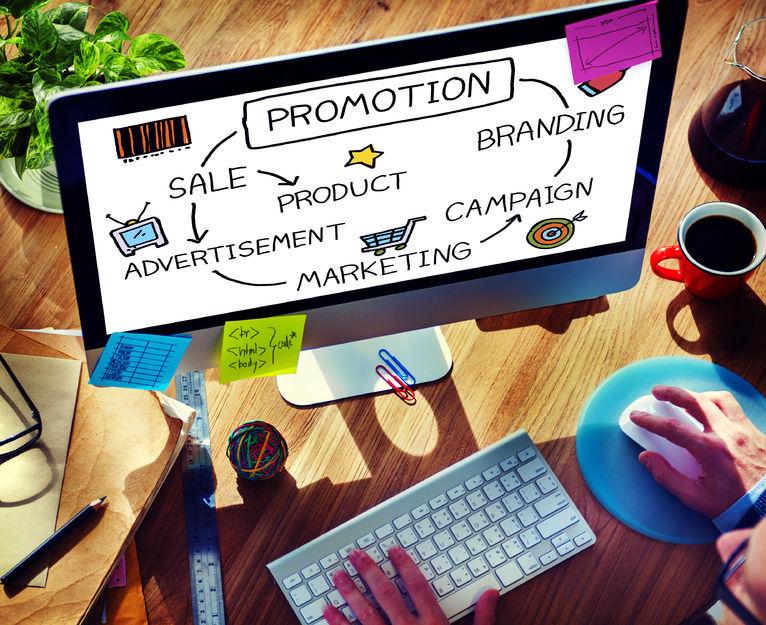 42941284 - promotion advertisement sale branding marketing concept
