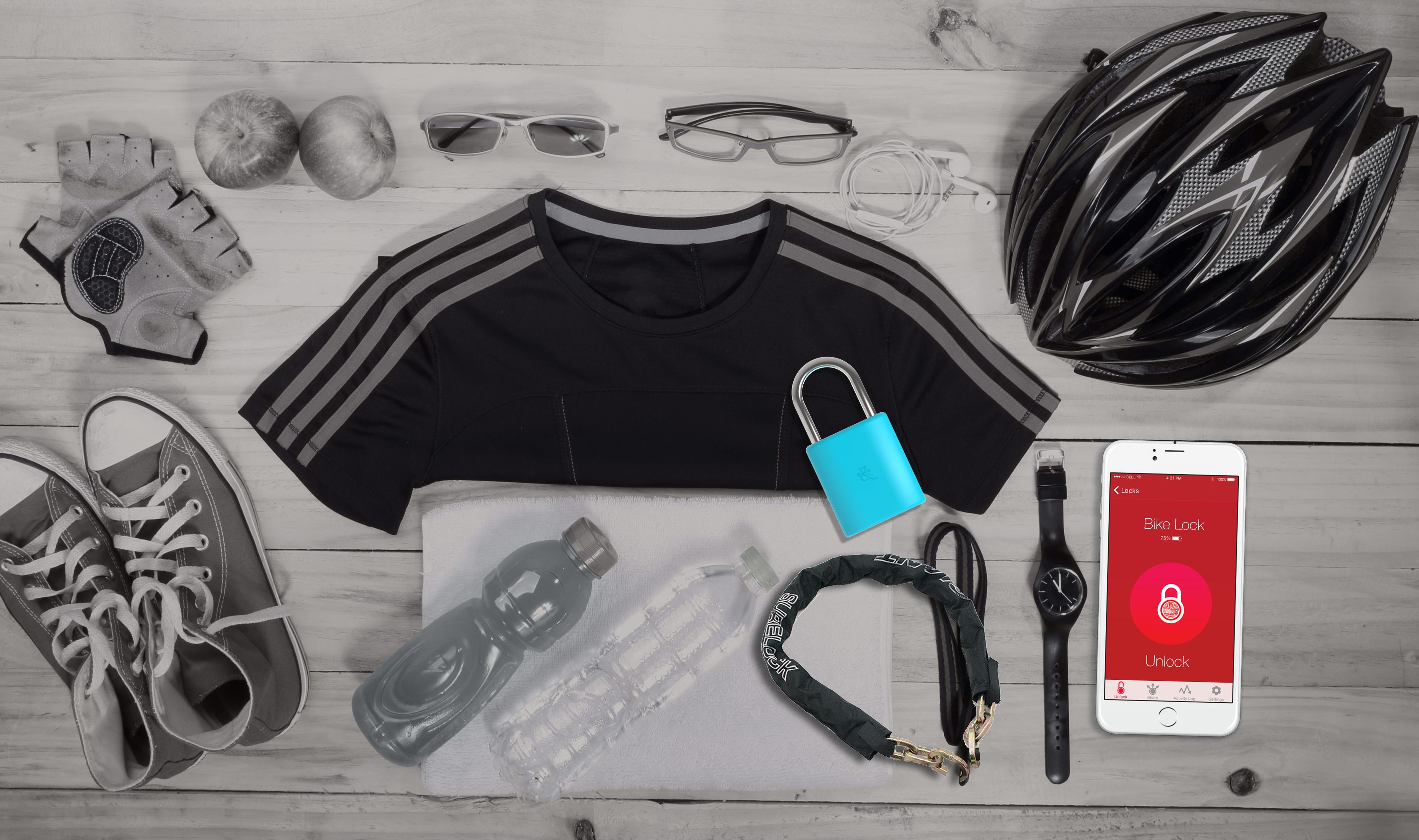 LockSmart Mini bike essentials