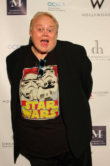Emmy 2016 Winner Louie Anderson makes his red carpet appearance at the Ultimate Primetime TV - Red Carpet Ready Lounge.