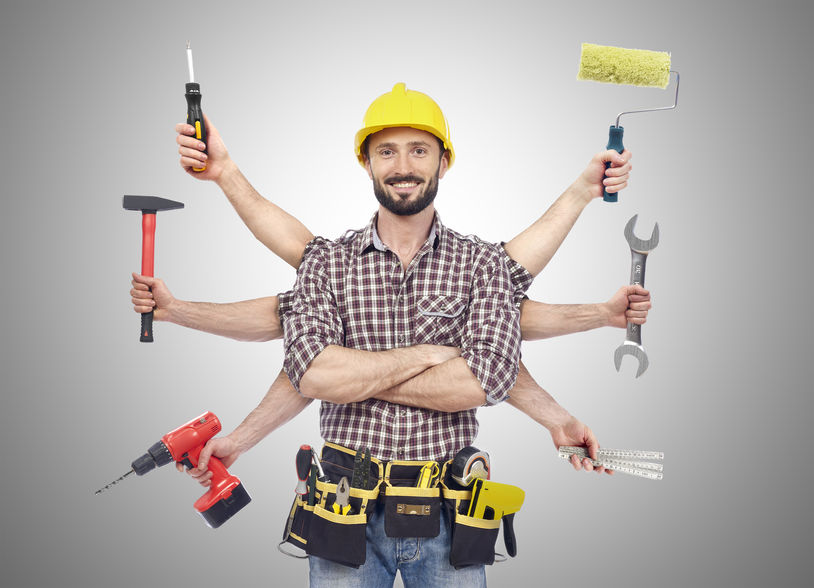 38186664 - handyman with tools