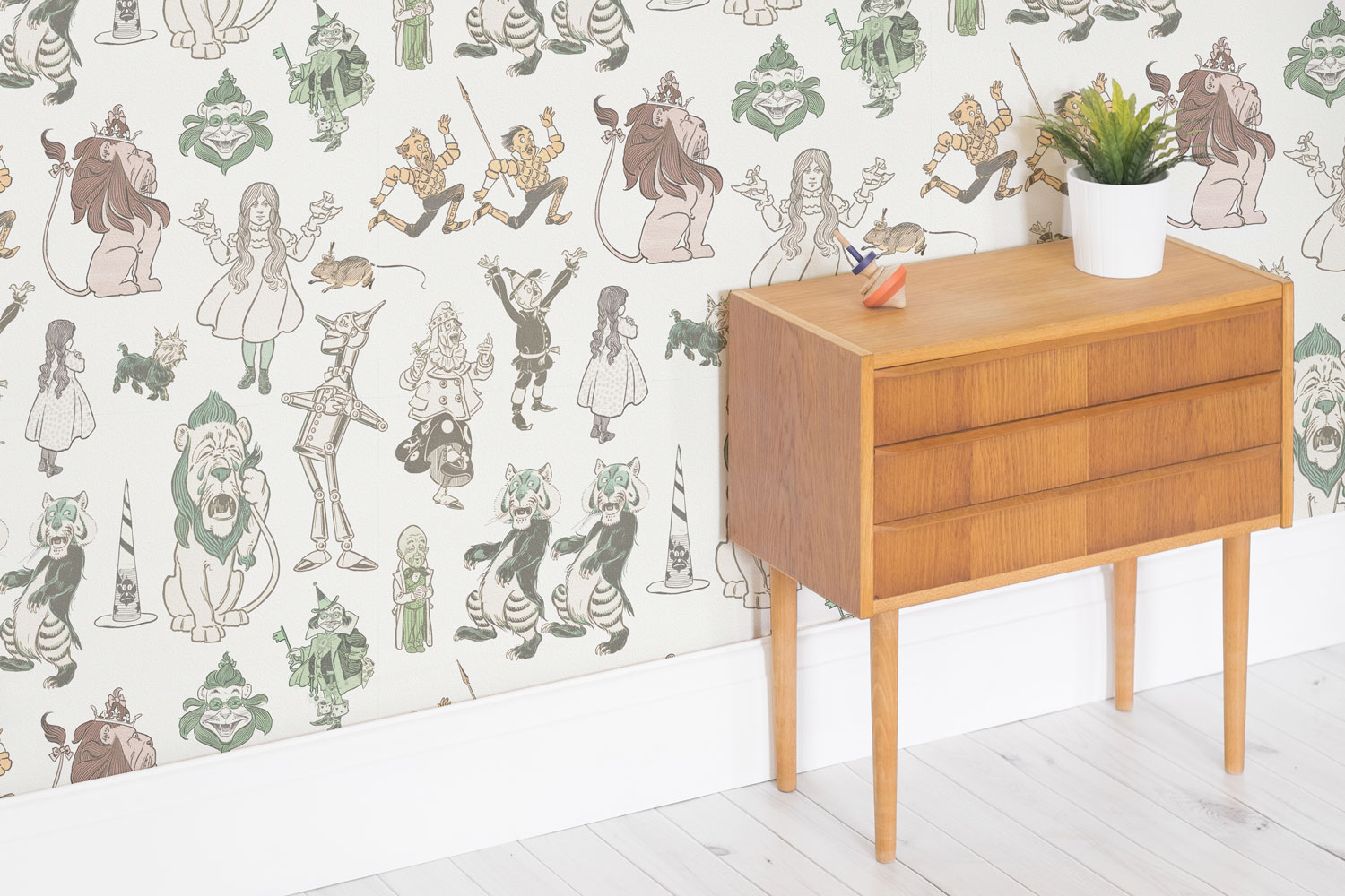 Down the rabbit hole with murals wallpaper home business for Home wallpaper company