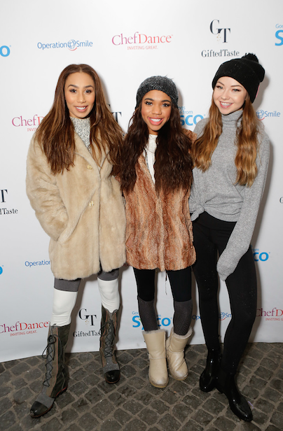 (From left to right) Eva Gutowski, Tela Dunn, Meredith Foster attend the third night of ChefDance to enjoy a delectable menu created by Chef Edward Lee of 610 Magnolia