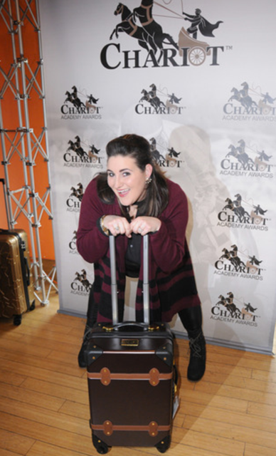 Actress Kaycee Stroh raved about Chariot Travel