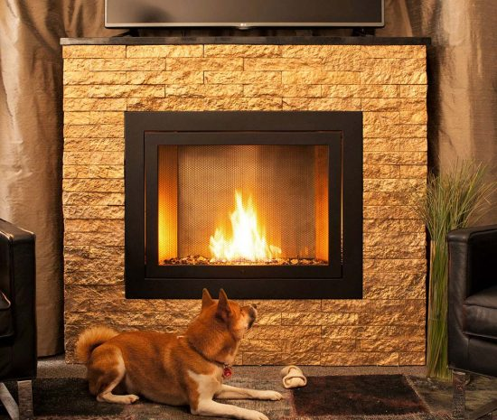 Hearth Cabinet Ventless Fireplaces: Architect Arthur Lasky Introduces Ventless Fireplaces With