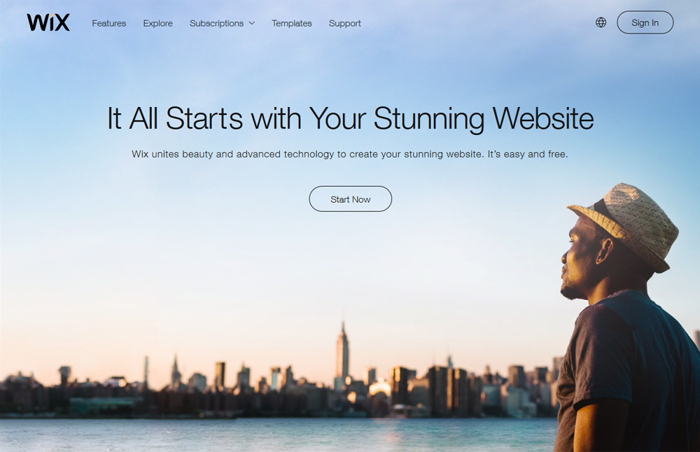 Wix is an open source platform that uses ADI or Artificial Design  Intelligence to design and develop websites. It is considered to be the  easiest and most ...
