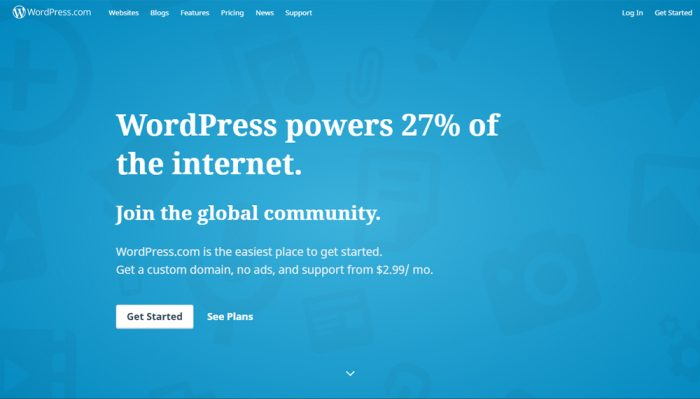 More than half of these websites are hosted by WordPress while about 20% of  them are ...