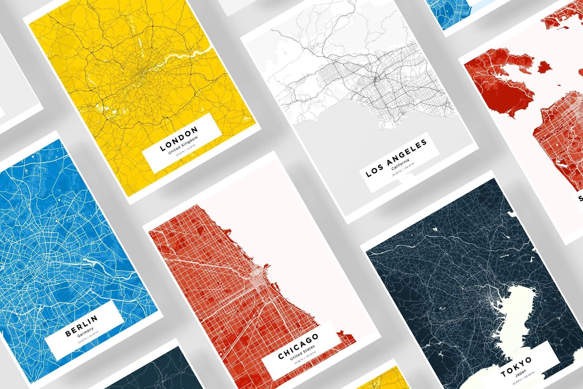 San Francisco Entrepreneur Creates Beautiful Custom Maps for Any ...