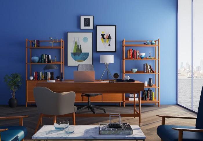 Home Office Paint Color Ideas To Enhance Productivity