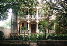 Southern Plantation-Style Home