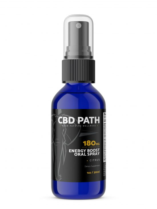 CBD Path Energy Boost Oral Spray
