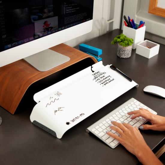 FluidStance Slope Desktop Whiteboard