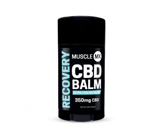 Muscle MX Recovery CBD Balm
