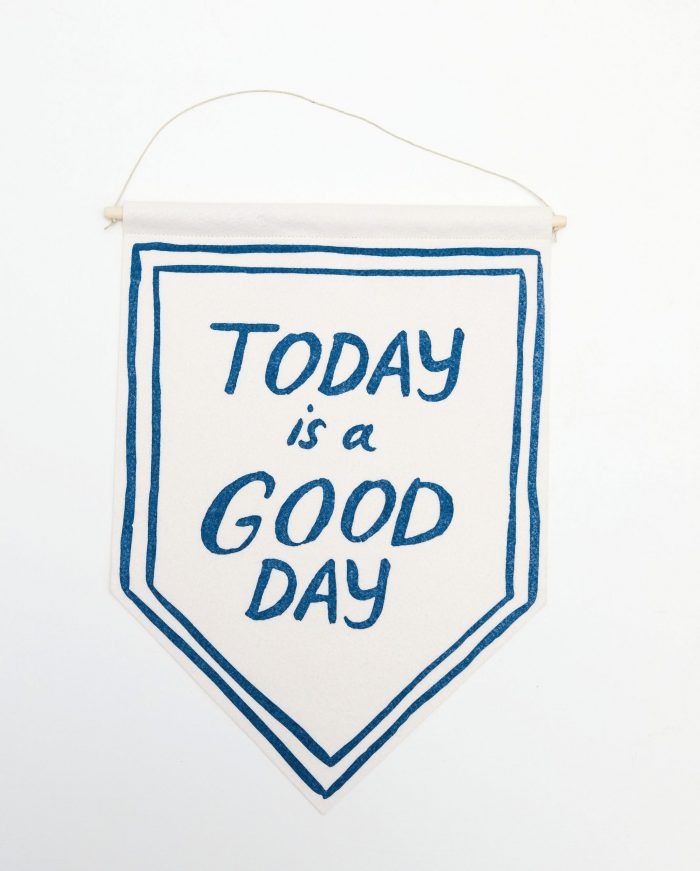 "Molly Hatch ""Today is a Good Day"" Banner"