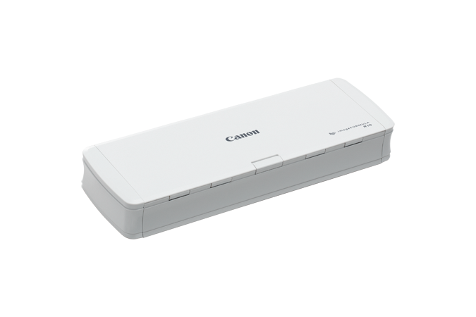The Canon imageFORMULA R10 Portable Scanner