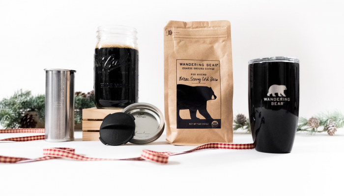 Wandering Bear Extra Strong Cold Brew Homebrew Kit