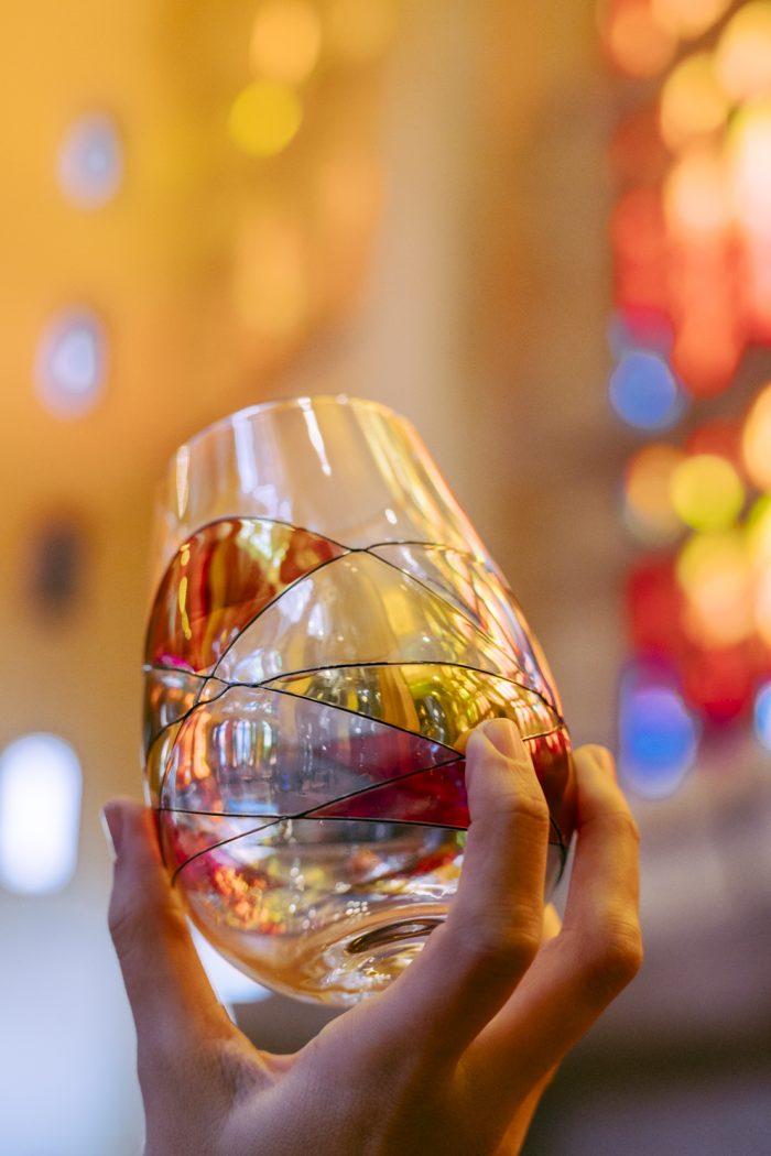 Cornet Barcelona Sagrada Collection Stemless Wine Glass