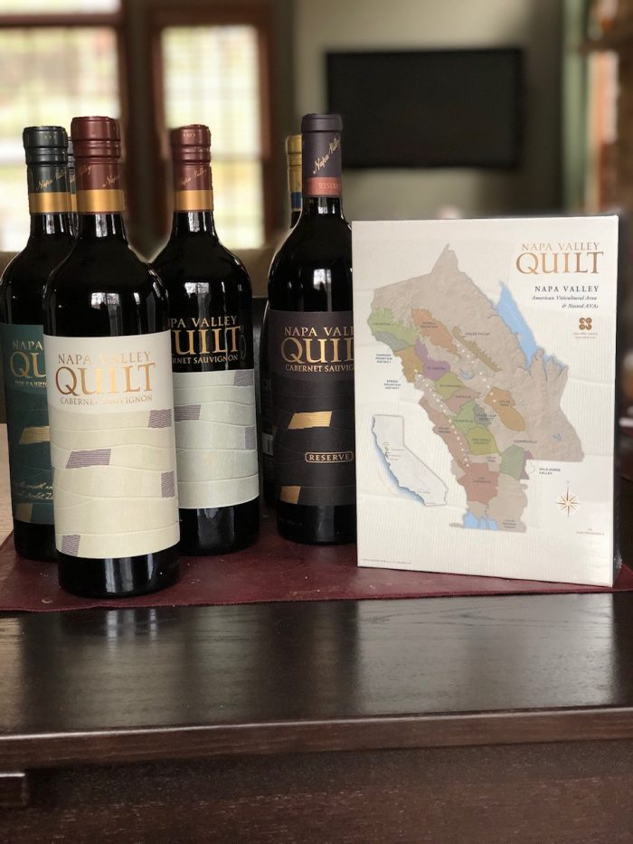 Quilt & Co. Puzzle and Wine Pack
