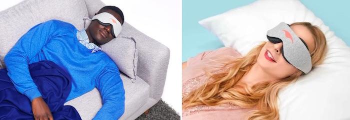 Máscaras para dormir manta
