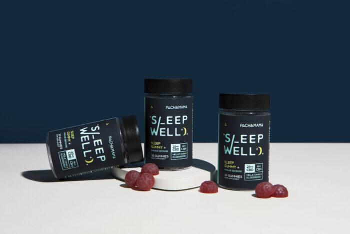 Pachamama's Vegan Hemp Gel Capsules and Sleep Well Gummies